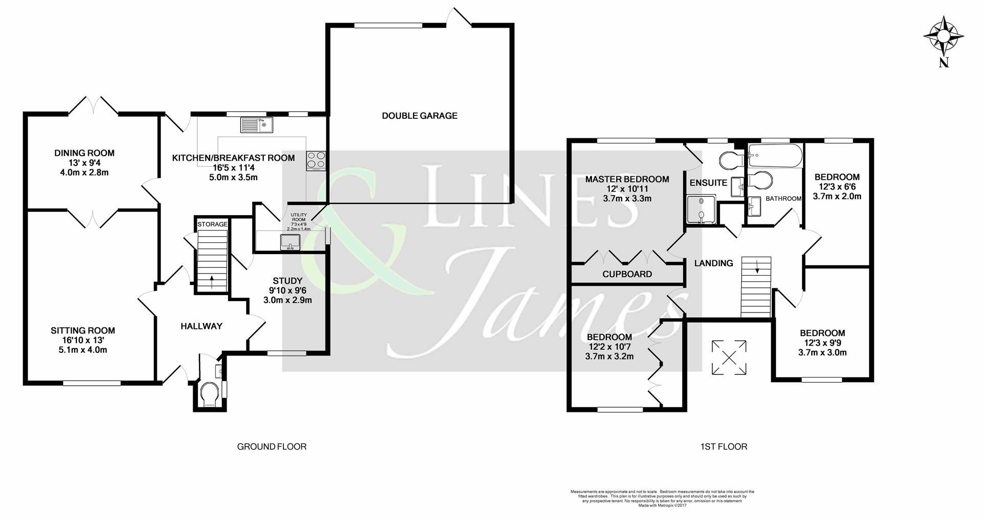 Floorplan for Foxholes, Horsham